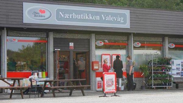 Fasadebilde av Nærbutikken Valevåg