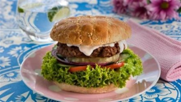 Grillet hawaiiburger