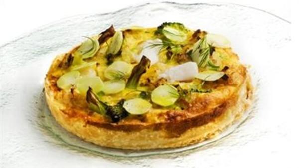 Torsk- og brokkoli pai