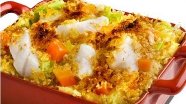 Torsk og potetgrateng med sennep