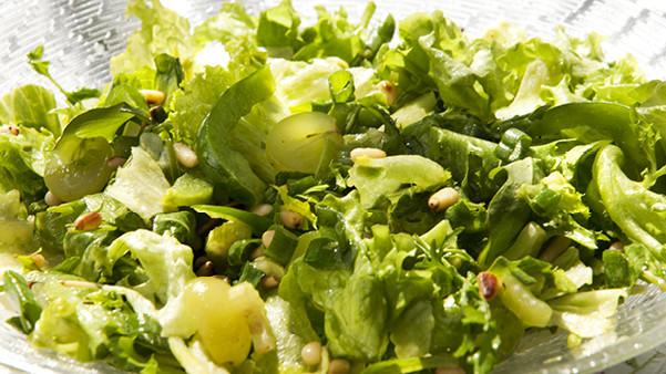 Sprek grønn salat