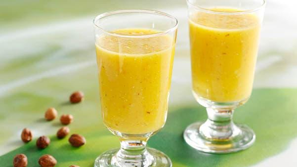 Smoothie med gul paprika og ananas