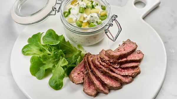 Roastbeef med hjemmelaget potetsalat