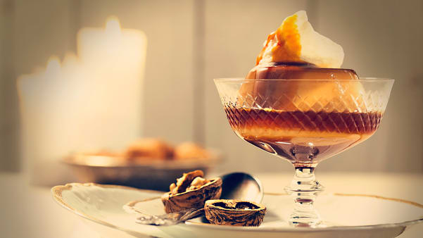 Hjemmelaget karamellpudding