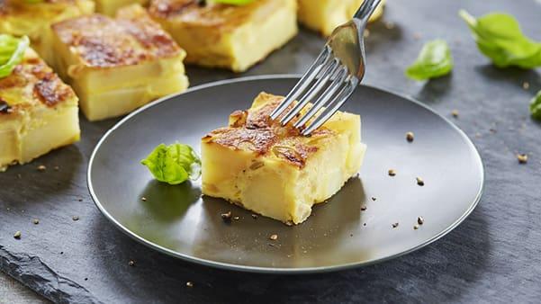 Potet-tortilla (spansk-omelett)
