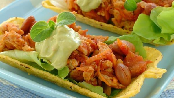 Taco med kylling