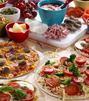 Min egen pizza