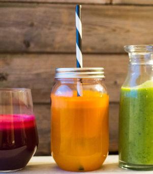 Fristende juice og smoothie