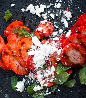 Marinerte jordbær