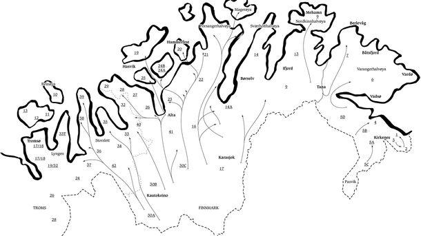 Distriktene til reineierne