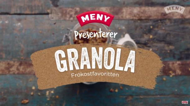 Frokostfavoritten granola