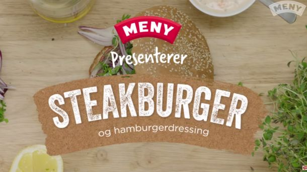 Slik lager du en saftig steak burger