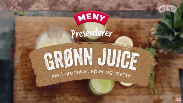 Slik lager du sunn hjemmelaget juice