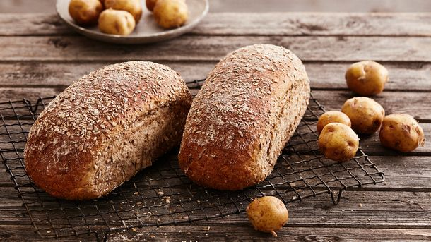 Landeveis rugbrød - med potet fra Stjørdal