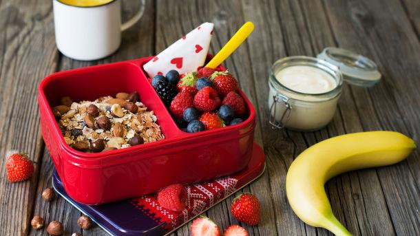 Müsli i matboksen - skikkelig sunn lunsj