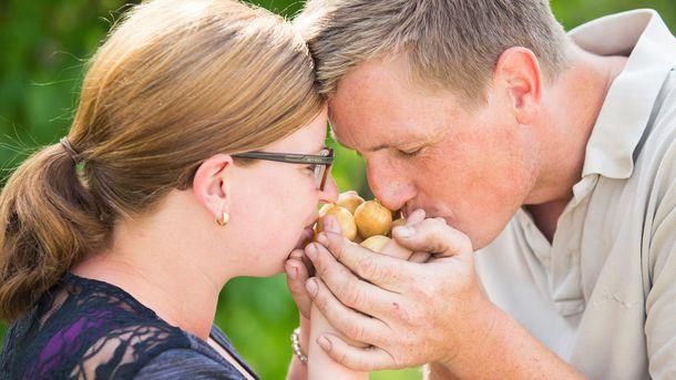 Økologiske poteter fra Sandholt og Eftedal
