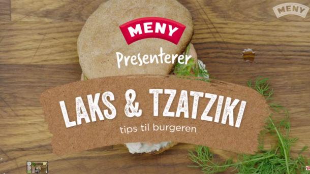 Slik lager du lakseburger