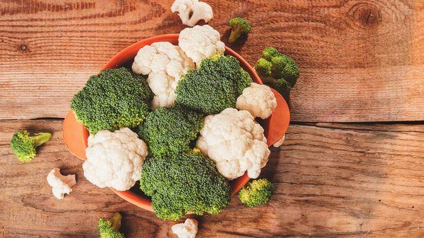 Supergrønnsakene brokkoli og blomkål