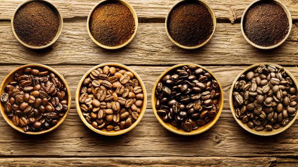 Den gode smaken av kaffe