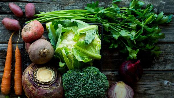 Norske grønnsaker, sopp og bær