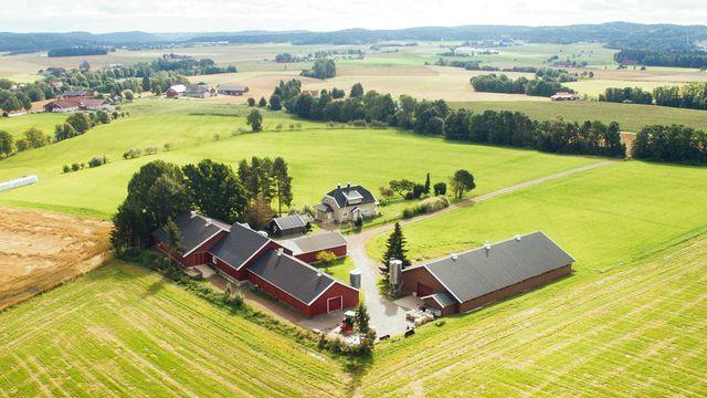 Fra Lerstang gård i Vestfold