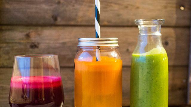 7 fristende juice og smoothie