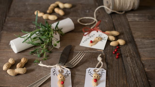 Julekort og pakkelapper