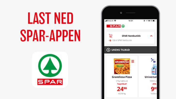 Ny SPAR-app