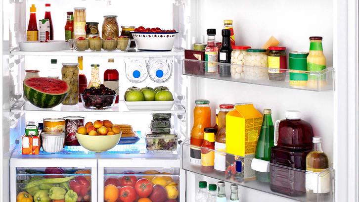 Slik holder du orden i kjøleskapet