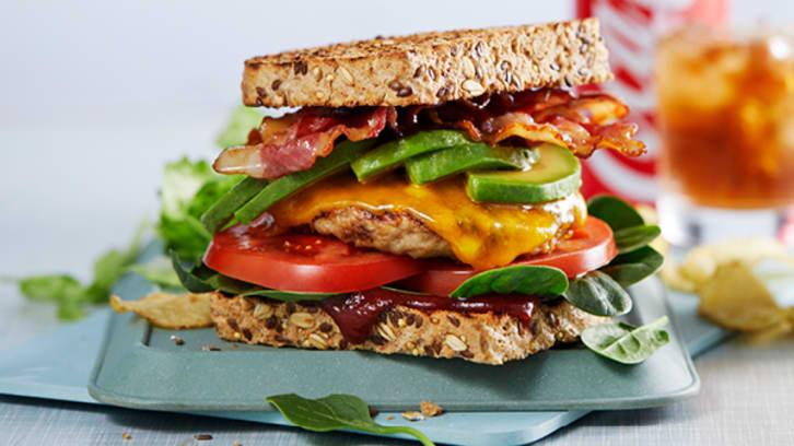Chicken Sandwich Burger