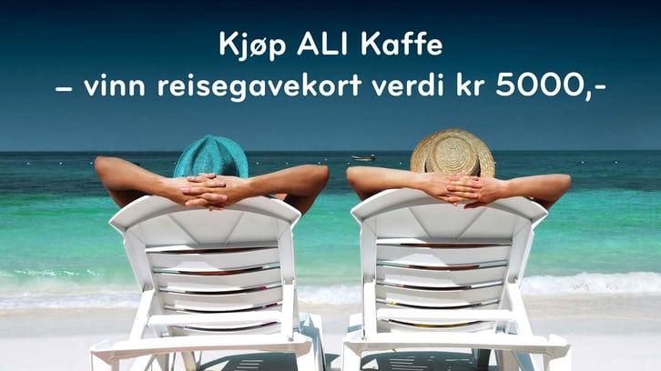 Ali Kaffe-konkurranse hos SPAR