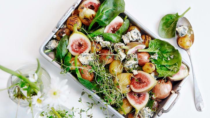 La salaten spille hovedrollen