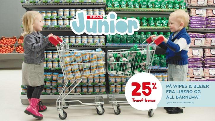 SPAR Junior setter barna i fokus!