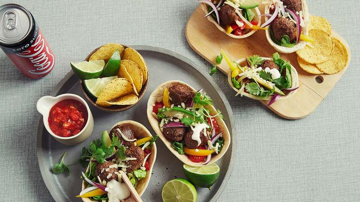 Meksikanske kjøttboller