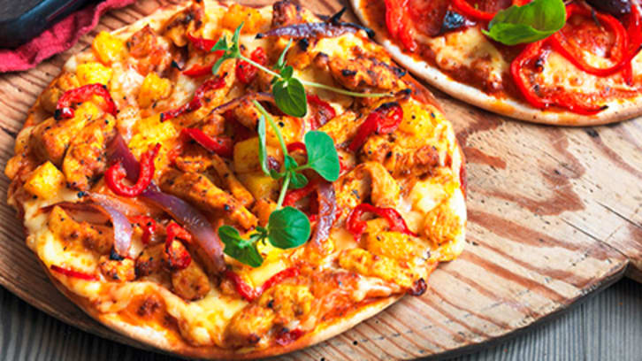Ananas Fajita Pizza