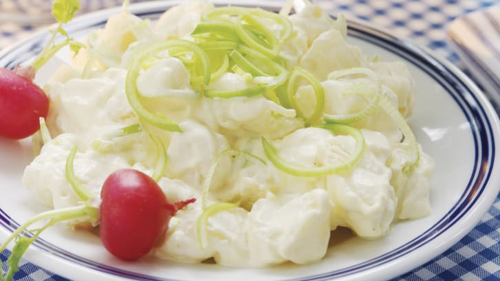 Kremet potetsalat