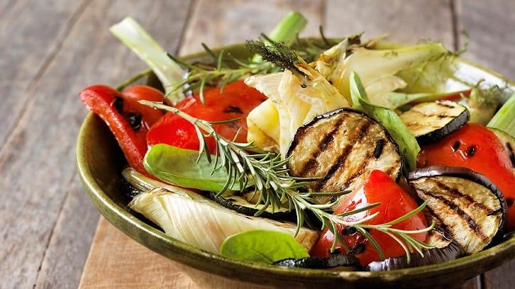 Vårlig vegetarmat
