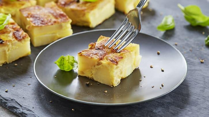 Potet-tortilla (spansk-omelettt)