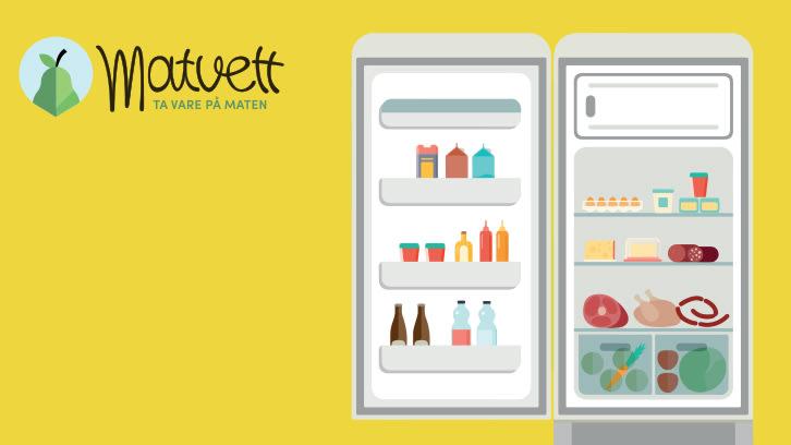 Reduser ditt matsvinn med Kjøleskapskartet