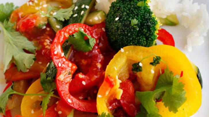 Grønnsakswok