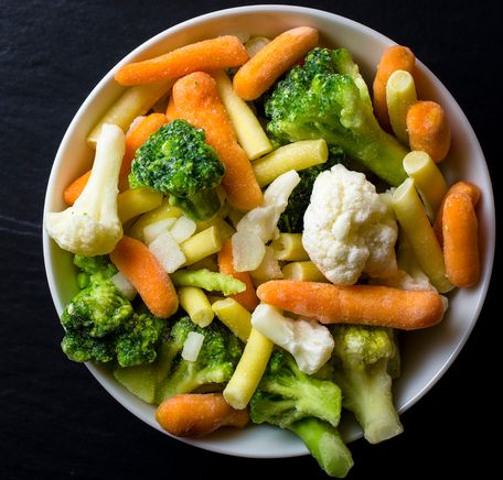 """Illustrasjonsbilde for """"Slik bruker og tilbereder du fryste grønnsaker """""""