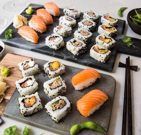 """Illustrasjonsbilde for """"Premium sushi fra MENY"""""""