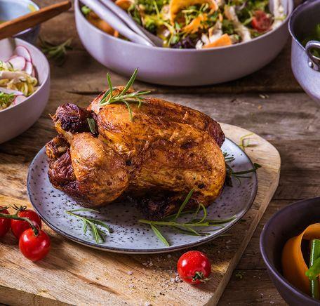 """Illustrasjonsbilde for """"Rask middag med nygrillet kylling"""""""