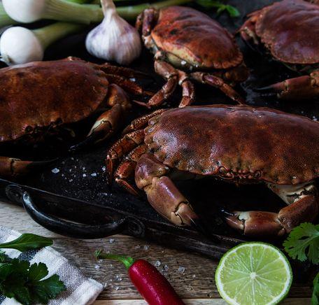 """Illustrasjonsbilde for """"Slik tilbereder du krabbe"""""""