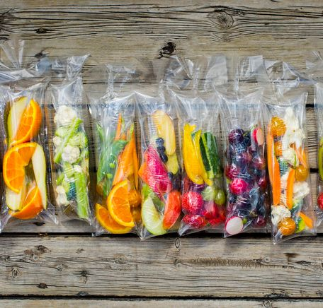 """Illustrasjonsbilde for """"Fruktposer til matpakken"""""""