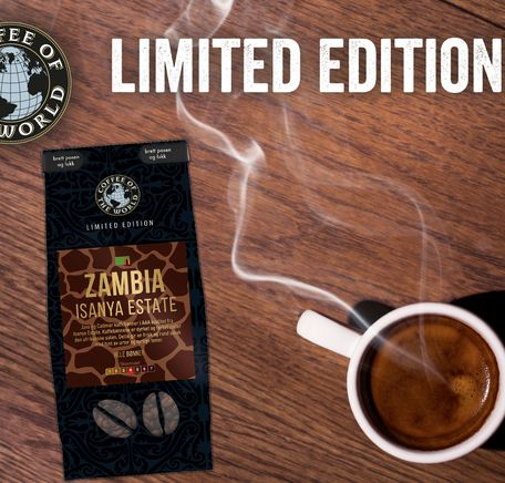 "Illustrasjonsbilde for ""Limited Edition: Zambia Isanya Estate"""