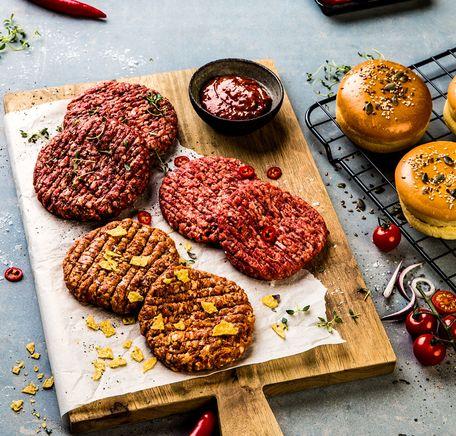 """Illustrasjonsbilde for """"Hjemmelaget burger"""""""