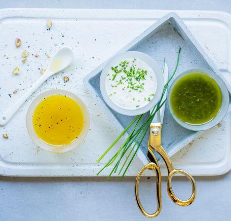"""Illustrasjonsbilde for """"Enkle dressinger til salaten"""""""