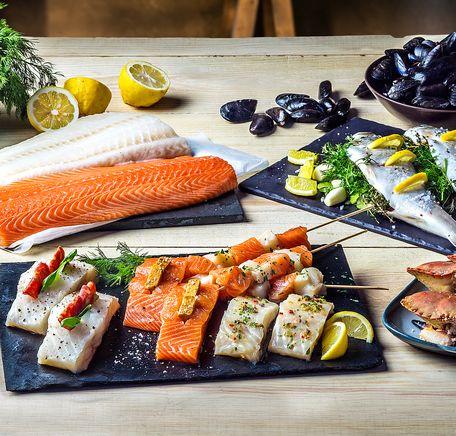 """Illustrasjonsbilde for """"Slik tilbereder du fisk"""""""