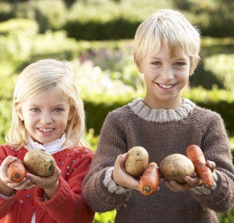 """Illustrasjonsbilde for """"Få barna til å spise mer frukt og grønt"""""""